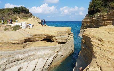 Corfu y su Canal del Amor