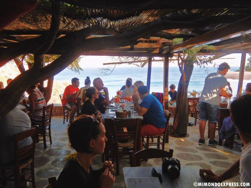 comer en Mykonos