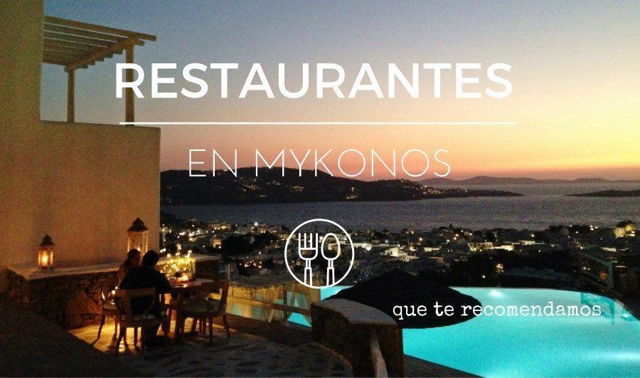 Restaurantes en Mykonos