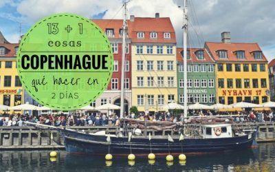 13 + 1 cosas que debes hacer en Copenhague en un fin de semana