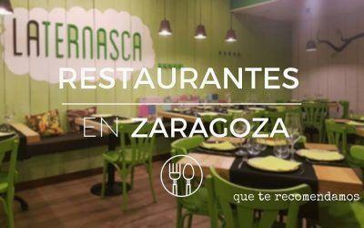 Dónde comer en Zaragoza: 6 restaurantes recomendados