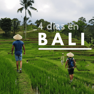 Qué ver en Bali en 4 días