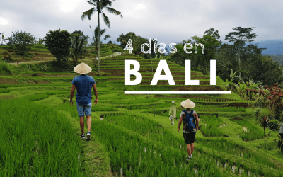 Qué ver en Bali en 4 días: guía de viaje