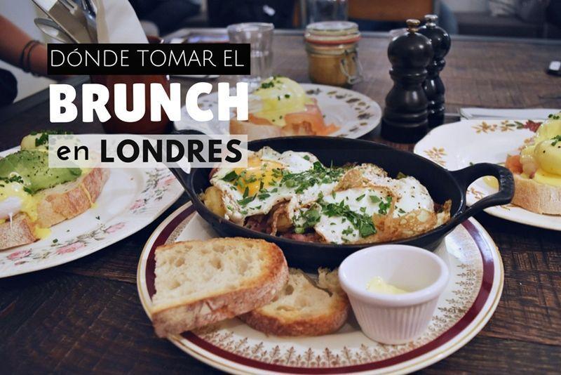 Donde tomar el brunch en Londres