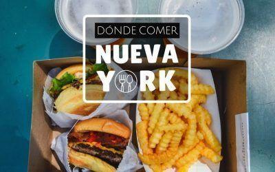 Dónde comer en Nueva York – Mejores hamburguesas, cookies y restaurantes