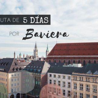 5 días por Baviera