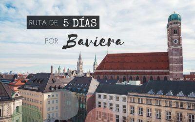 De Nuremberg a Salzburgo – Ruta de 5 días por Baviera