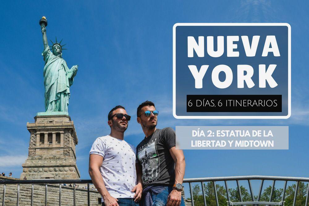 Nueva York Estatua de la Libertad Midtown