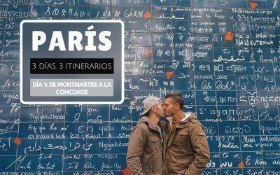 París: 3 días, 3 itinerarios – Día 1: de Montmartre a la Concorde