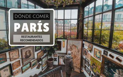 Dónde comer en París: 9 restaurantes recomendados