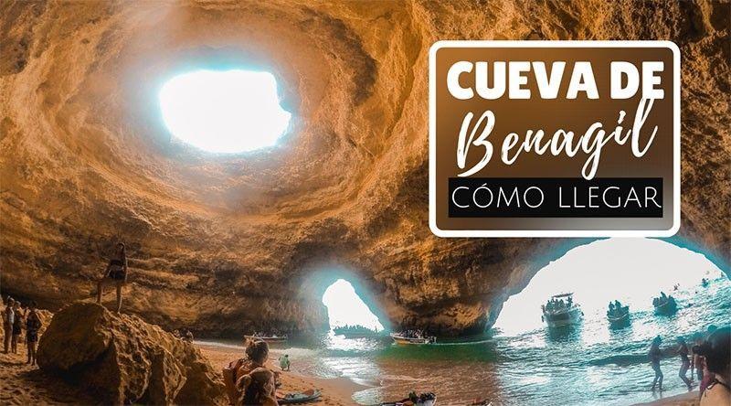 Cómo visitar la Cueva de Benagil en el Algarve