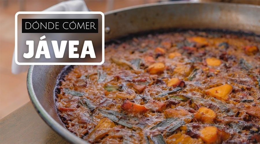 Dónde comer en Jávea