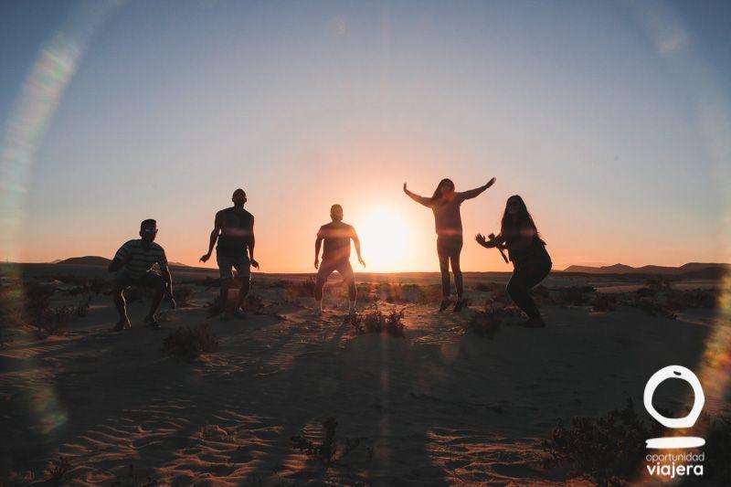 Así fue la primera experiencia en grupo a Fuerteventura