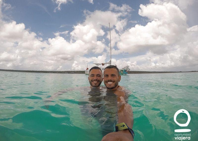 Visitar la laguna de Bacalar en Tour Velero